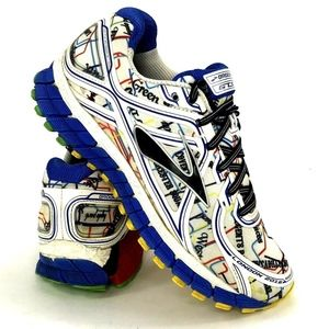 Brooks Womens Sneakers Size 7 GTS 16 London 2016